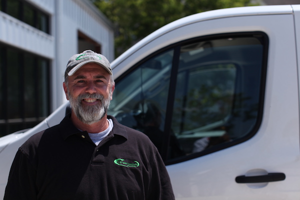 Mike Thigpen, owner of Greenwave Plumbing