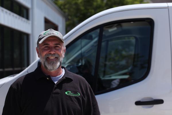 Mike Thigpen, owner of Greenwave Plumbing