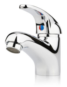 A water faucet